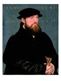 De Vos Van Steenwijk Premium Giclee Print by Hans Holbein the Younger