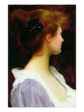 Faith (Oil on Canvas) Giclee Print by William Henry Margetson