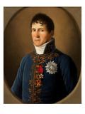 Portrait of Felix Baciocchi, Prince De Lucques Et De Piombino (1762-1841) Giclee Print by Stefano Tofanelli