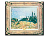 The Station at Sevres Giclee Print by Alfred Sisley