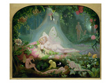 There Sleeps Titania, 1872 Giclee Print by John Simmons