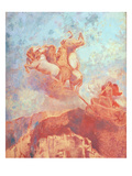 Chariot of Apollo, c.1908 Giclee Print by Odilon Redon