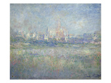 Vetheuil in the Fog, 1879 Giclee Print by Claude Monet