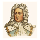 King George Ii Giclee Print by  English