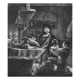 Jan Uytenbogaert 'The Goldweigher', 1639 (Etching and Drypoint) Giclee Print by Rembrandt van Rijn
