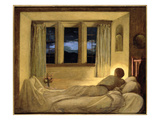 The End of the Day, 1938 (Oil on Board) (See 210332) Giclee Print by Henry A. Payne