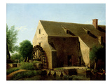 A Mill, 1800-06 Giclee Print by Jean Victor Bertin