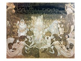 The Three Fiancees Giclee Print by Jan Theodore Toorop