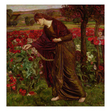 In the Garden of Proserpina, 1893 Giclee Print by Henry A. Payne