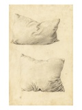 Studies of Pillows (Pencil) Reproduction procédé giclée par Sir Edward Burne-Jones