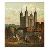The Tower of London Giclee Print by  English