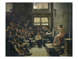 The Studio of Baron Antoine Jean Gros (1771-1835) Giclee Print by Auguste Antoine Masse