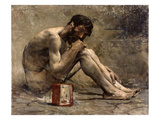 Diogenes, 1905 Premium Giclee Print by Jules Bastien-Lepage