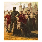 Execution of Lady Jane Grey Giclee Print by  English