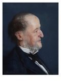 Portrait of a Man (Pastel) Giclee Print by Henri Gervex