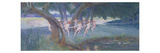 Where Rural Fays and Fairies Dwell (W/C on Paper) Giclee Print by Walter Jenks Morgan