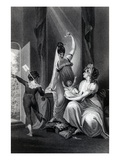 A Mother with Her Family in the Country, Engraved by Richard Rhodes, 1807 (Engraving) Giclee Print by Henry Fuseli