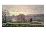 Hyde Park Giclee Print by Claude Monet