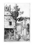 The Nativity, C.1504 (Engraving) Giclee Print by Albrecht Dürer