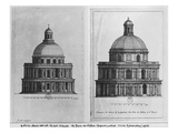 Basilica Saint-Denis, the Valois Tower, C.1655 (Engraving) (See also 414689, 414690) Giclee Print by Jean Marot