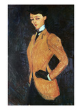 The Amazon, 1909 Giclee Print by Amedeo Modigliani