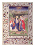 Ms 2 Fol.65V the Visitation, from the Boucicaut Hours, C.1410 (Vellum) Giclee Print by  French