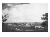 View of Bayonne Seen from Halfway Down the Citadel, 1761 Giclée-Druck von Claude Joseph Vernet