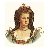 Queen Anne Giclee Print by  English