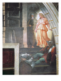 St Peter Escapes with the Angel, from 'The Liberation of Saint Peter' in the Stanza D'Eliodoro Reproduction procédé giclée par  Raphael