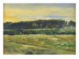 The Common, June, 1871 (Oil on Card) Giclee Print by John William Inchbold