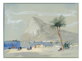 Gibraltar (W/C on Paper) Giclee Print by Hercules Brabazon Brabazon