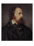 Lord Alfred Tennyson (1809-92), 1901 (Oil) Giclee Print by Alice Hambidge