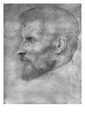 Philibert Claitte (Goldpoint on Paper) Giclee Print by Alphonse Legros