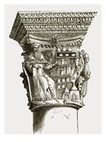 Capital in the Palace at Ragusa Giclee Print by  English
