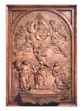 Bozzetto for Forteguerri Cenotaph (Wood) Giclée-Druck von Andrea del Verrocchio