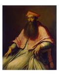 Cardinal Pole Giclée-tryk af Sebastiano del Piombo