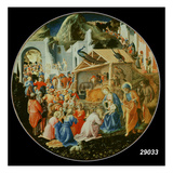 The Adoration of the Magi, C.1440-60 (Tempera on Panel) Giclee Print by Fra Angelico