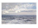 Silver Sea, 1869 (Oil on Canvas) Giclee Print by Henry Moore