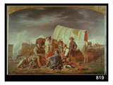 Advice on the Prairie (Oil on Canvas) Giclee Print by William Tylee Ranney