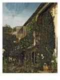 Summer Garden, C.1834-41 (Oil on Canvas) Gicl&#233;e-Druck von Henry Mark Anthony