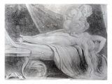 The Nightmare, 1781 (Chalk on Paper) Giclee Print by Henry Fuseli