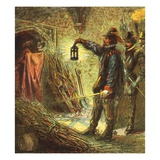 The Capture of Guy Fawkes Giclee Print by  English