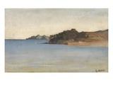 Portofino, c.1858 Giclee Print by Giovanni Costa