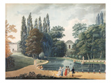 Massena Park at Reuil, 15 April 1813 (Gouache on Paper) Giclee Print by  Caizac