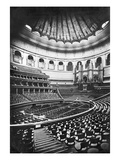The Royal Albert Hall, London, C.1880's (B/W Photo) Giclee Print by  English Photographer