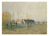 The Farm, 1874 Giclee Print by Alfred Sisley