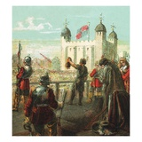 Execution of Lord Strafford Giclee Print by  English