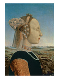 Battista Sforza, Wife of Federigo Da Montefeltro, Duke of Urbino, C.1465 (Detail from 95420) Giclee Print by  Francesca