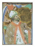 A Bishop Saint (Vellum) Giclee Print by  Master of San Michele of Murano