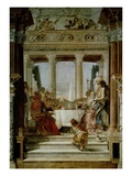 Cleopatra's Banquet Premium Giclee Print by Giovanni Battista Tiepolo